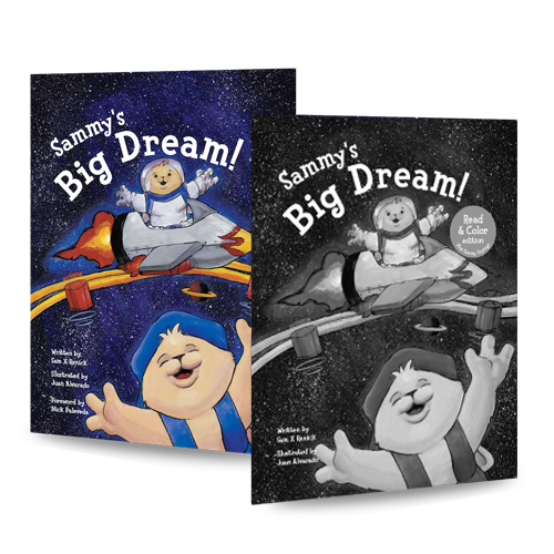 Sammy's Big Dream - Read & Color Bundle