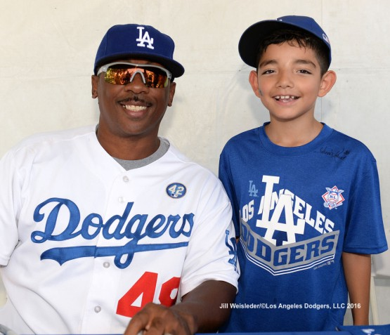 Dennis Powell former Dodger at Viva Los Dodgers