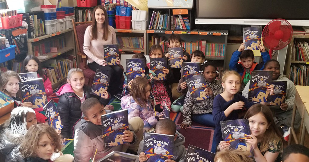 Leslie Girone leads a Dream Big Read